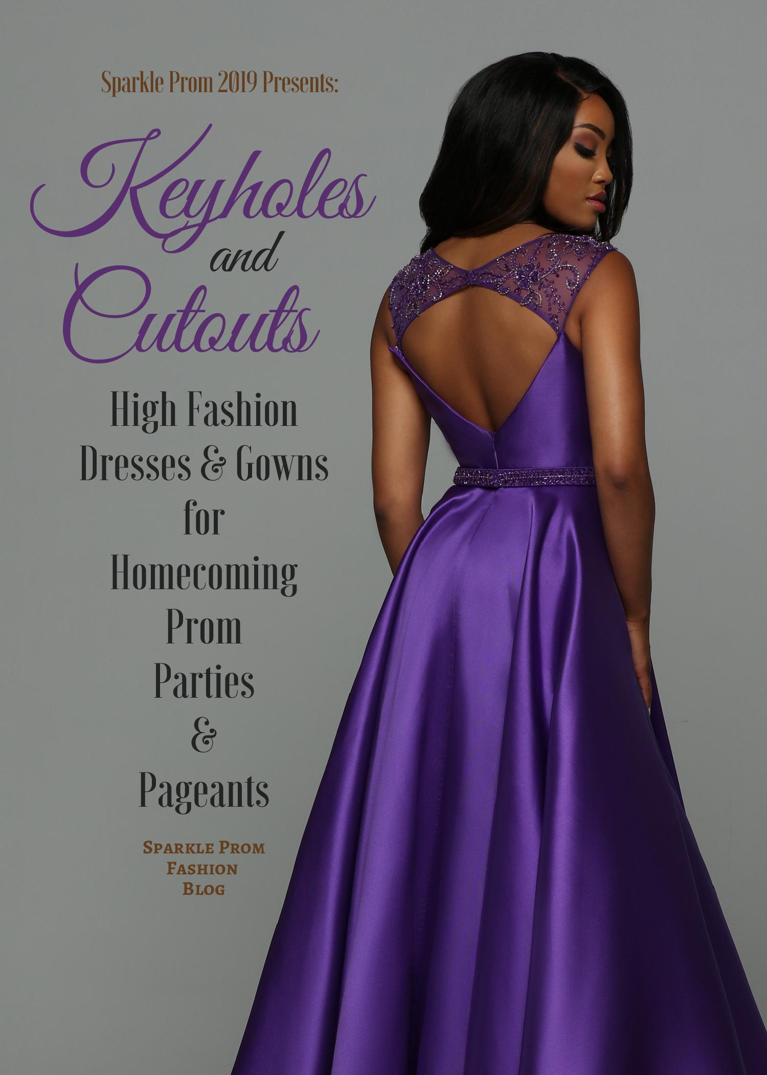 d12eb51c336 You were made to Sparkle — Top Prom Dress Trends 2019  Satin Prom ...